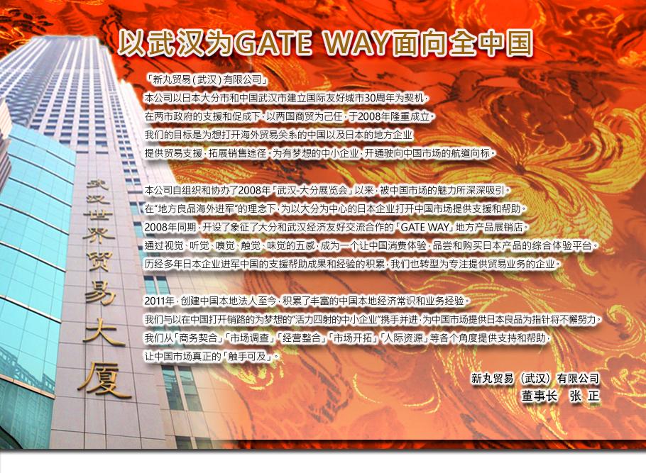 """中国 武汉""""GateWay""""开业通知"""